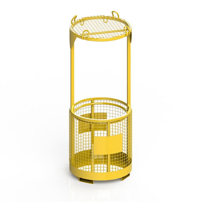 circular man cage