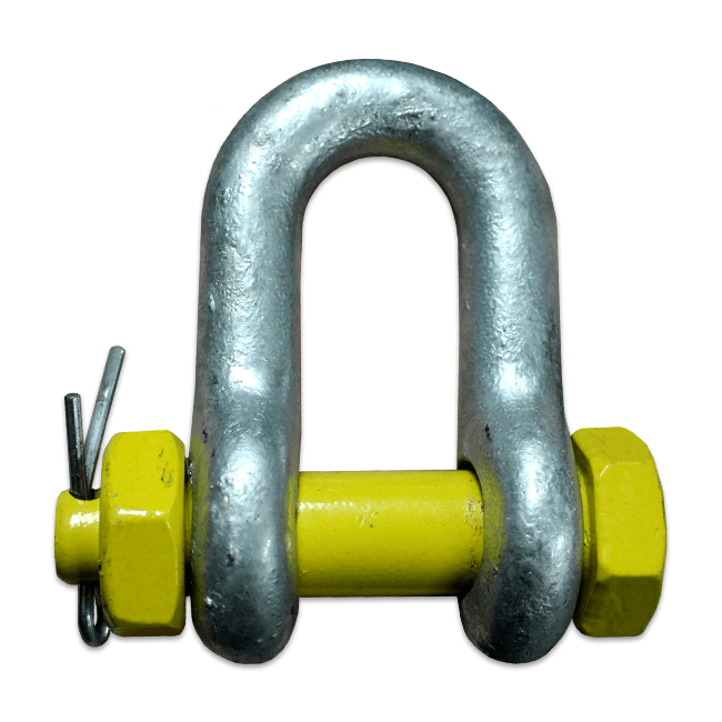 shackle grade S alloy safety dee screw pin