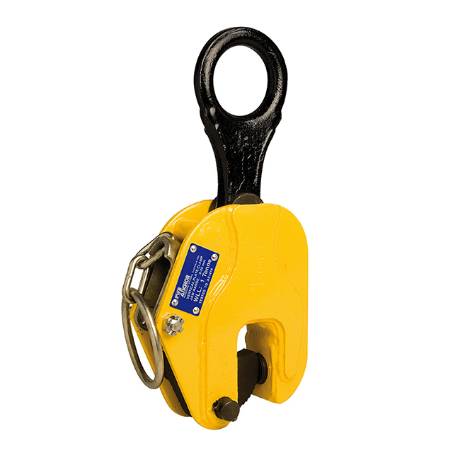 PWB vertical plate lifting clamp