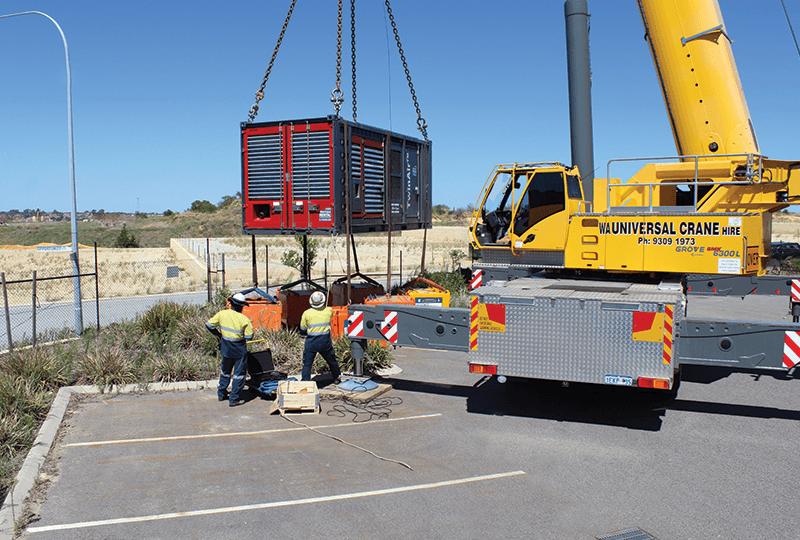 crane testing