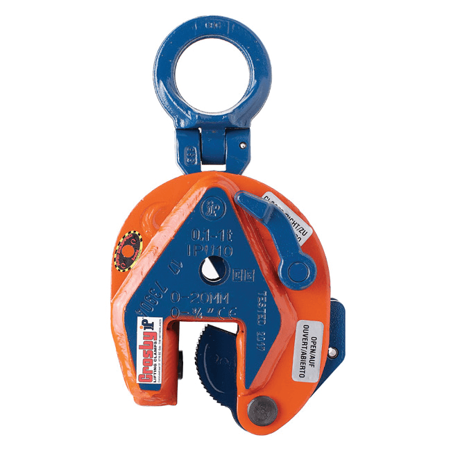 Crosby vertical plate lifting clamp IP10