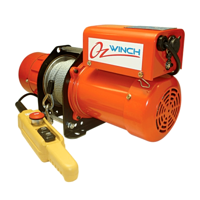 Oz winch electric