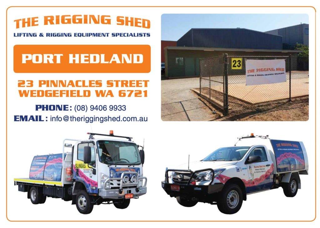 Port Hedland Rigging Shed